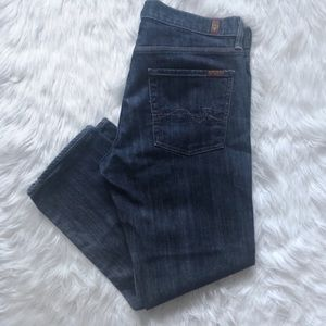 7FAMK Slimmy Slim  Straight Jeans 33